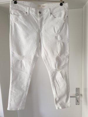 Levi's Jeans a 7/8 bianco