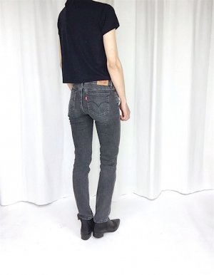 Levis 712 Slim Fit Jeans Rock 'n' Roll 70's Cosy Blogger Trend W26 L30