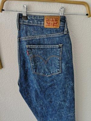 Levis 721 HIGH RISE SKINNY - Jeans Skinny Fit - blue denim high waist