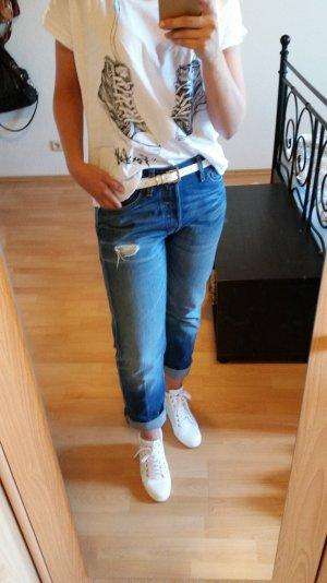 Levis Boyfriend Jeans blue Jeans used