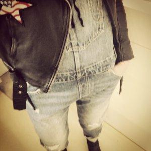 Levi's Salopette en jeans bleu coton