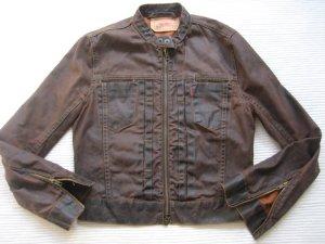 levis braune jeansjacke wie neu gr. s 36 wachsjeans