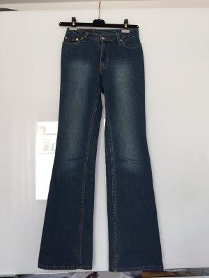 LEVIS Damen Jeans, Modell 518, Farbe Blau, Groesse W 30 L 34