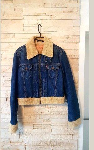 Levis Damen Trucker Jeans Jacke Gr. M