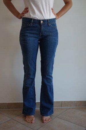 Levis Demi Curve Skinny Bootcut blau W28 L32