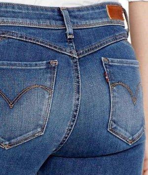 Levi's Tube jeans blauw