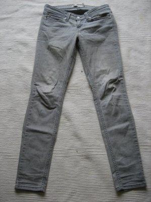 levis grau skinny jeans gr s 36