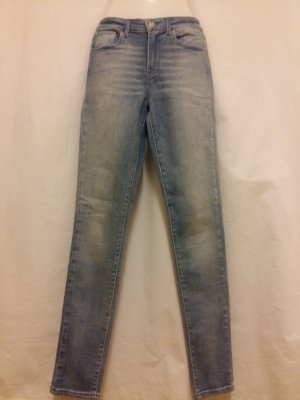 Levis High Rise Skinny Jeans Gr. 25/32 mittelblau