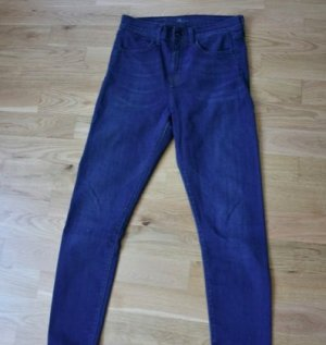 Levi's Hoge taille jeans staalblauw
