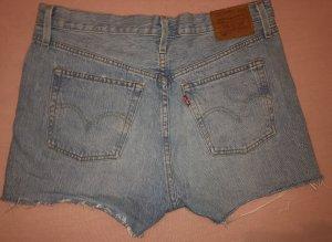 Levi's 3/4 Length Jeans light blue