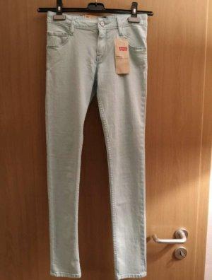 Levi's Skinny jeans lichtblauw