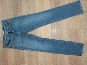 Levi's Pantalon cinq poches bleu tissu mixte
