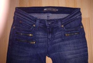 Levis jeans, demi curve, low skinny rise, wie neu, Grösse 26