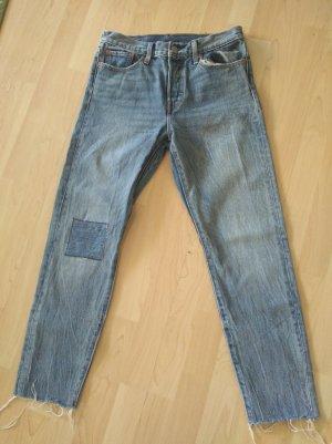 Levi's High Waist Jeans pale blue