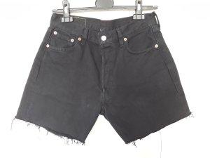 Levi's Short taille haute noir coton