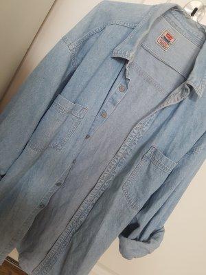 Levi's Denim Shirt azure cotton