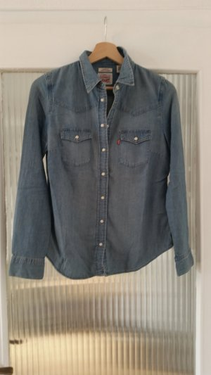 Levi's Blouse en jean bleu azur