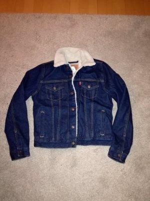 Levi's Veste en jean bleu foncé