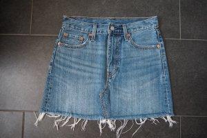 Levi's Jupe en jeans multicolore coton