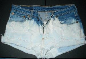 LEVIS LEVI Jeans Shorts Hot Pants Hotpants bleached W29 36 38 S M