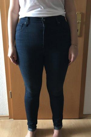 Levis Mile High Super Skinny Jeans dunkelblau Gr. 32/32