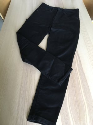 Levis Mile High Super Skinny schwarz
