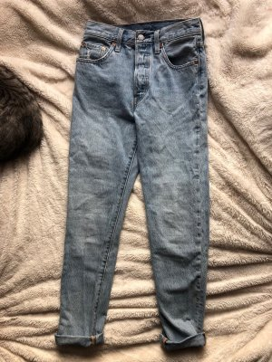 levis mom jeans hellblau größe S