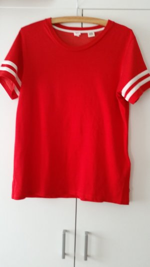 Levi's Top extra-large blanc-rouge