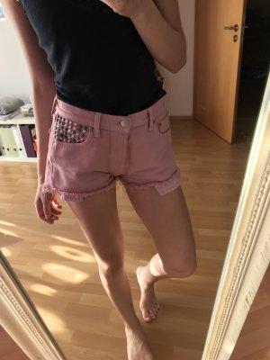 Levis shorts 38 Nieten rosa Vintage