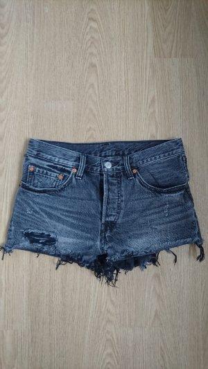 Levi's Denim Shorts dark grey