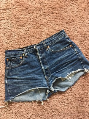Levi's Denim Shorts blue-dark blue