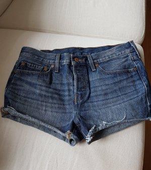 Levis Shorts Jeansshorts Gr. 27 dunkelblau