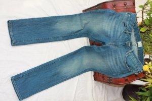 Levi's Pantalone cinque tasche blu acciaio Cotone