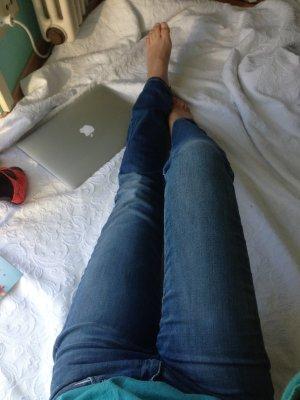 Levis Slim Fit, gerades Bein, mittlere Waschung, Größe 26, 36, skinnyjeans