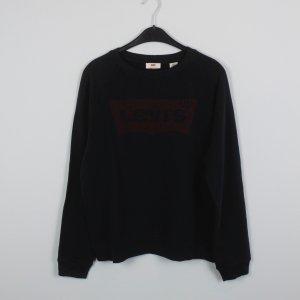 LEVIS Sweatshirt Gr. L schwarz Logo (18/10/136)