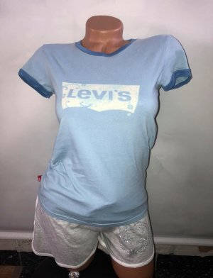 Levis T-Shirt Bluse in gr 38 Farbe Blau