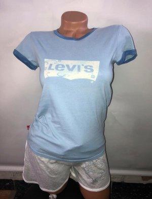 Levis T-Shirt in gr 36 Farbe Blau Baumwolle