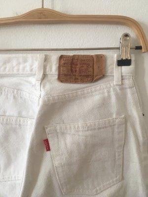 Levis W27 weiß Sommer Vintage Sehr guter Zustand