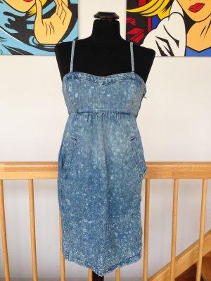 Levis (Zara, COS, Isabel Marant) Denim Jeanskleid blau batik