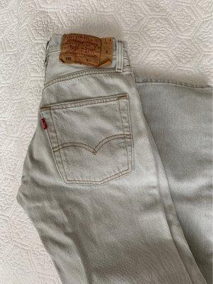 Levi's Wortel jeans lichtgrijs