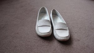 Slip-on Shoes white-natural white leather