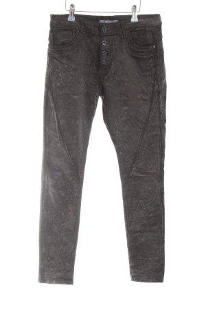 Lexxury Biker jeans zwart extravagante stijl