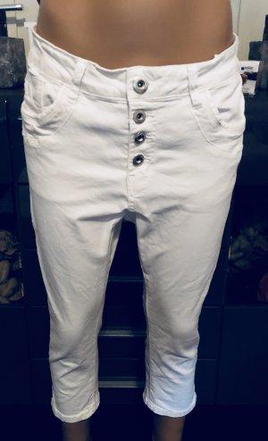 Lexxury Vaquero holgados blanco