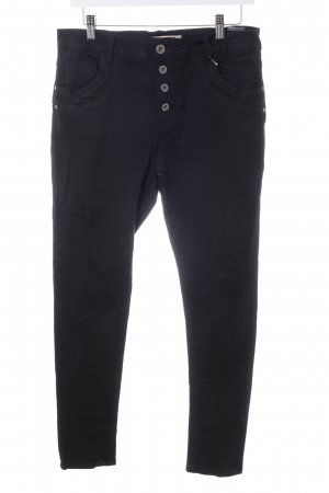 Lexxury High-Waist Hose schwarz Casual-Look
