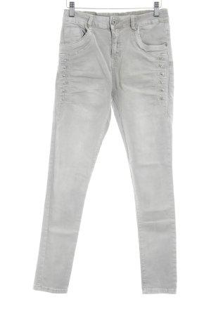 Lexxury Skinny Jeans hellgrau Casual-Look