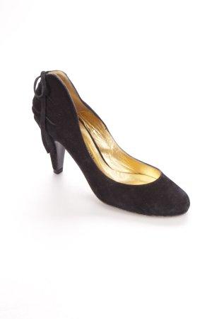 Lezlie Johnson Riemchenpumps schwarz klassischer Stil