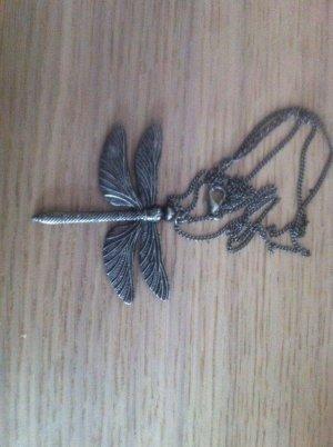Libellenhalskette, grau