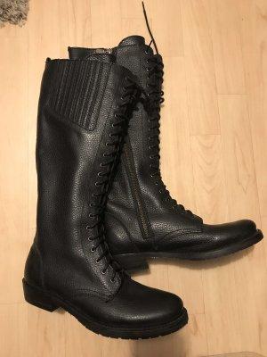 Liberty Bottes à lacets noir