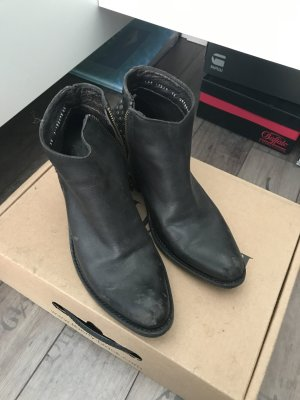 Liberty Stivaletto western nero-marrone-nero