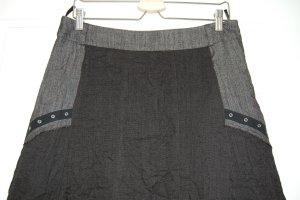Liberty Jupe évasée noir-gris anthracite tissu mixte